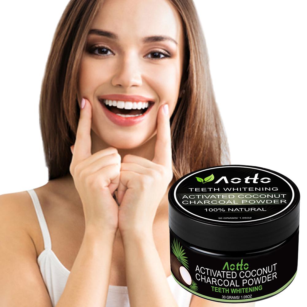Aotto Teeth Whitening Charcoal Powder